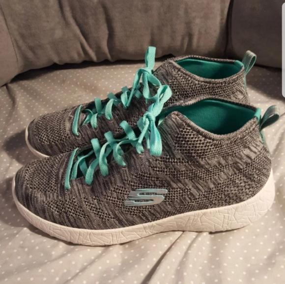 8 5 Demi Skechers Divergent Sneaker Boot Burst lcK1TJF